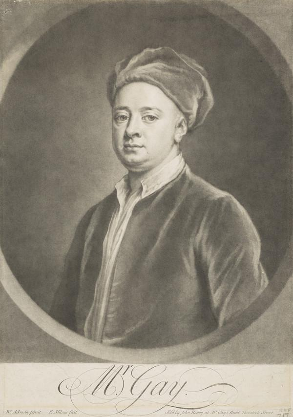 John Gay, 1685 - 1732. Poet and dramatist
