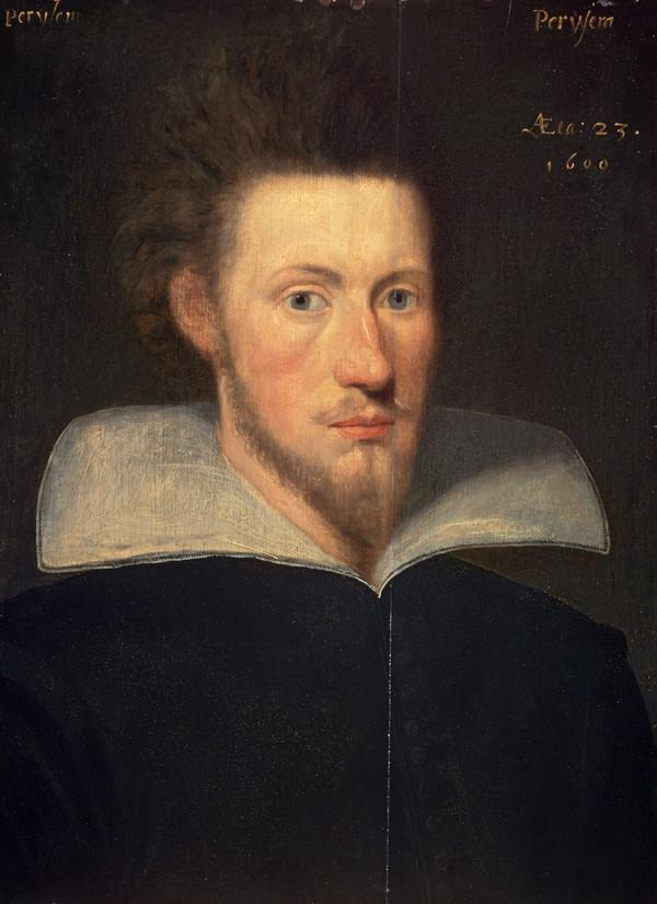 William Drummond of Hawthornden, 1585 - 1649. Poet (Dated 1609)