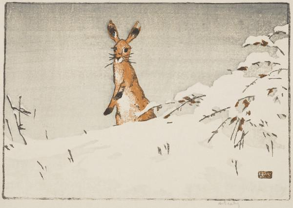 Snow and Hare (About 1923)