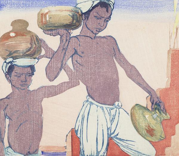 Water Carriers, Benares
