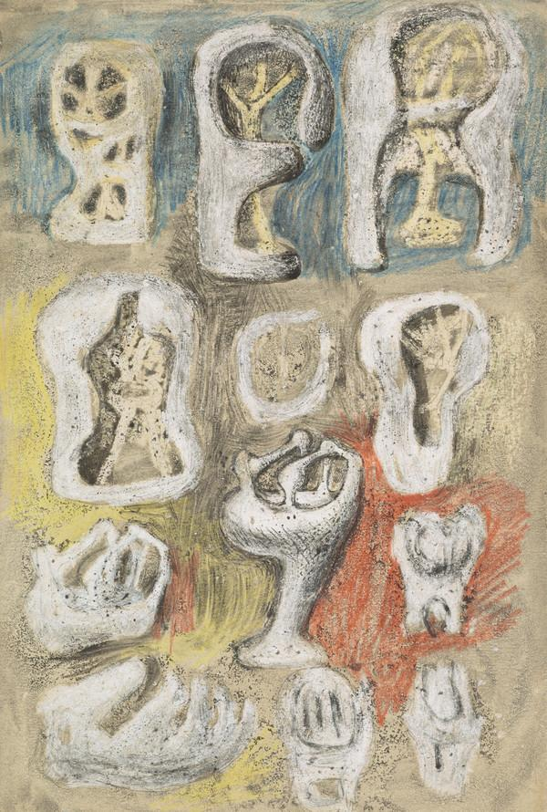 Studies for Sculpture (About 1939)