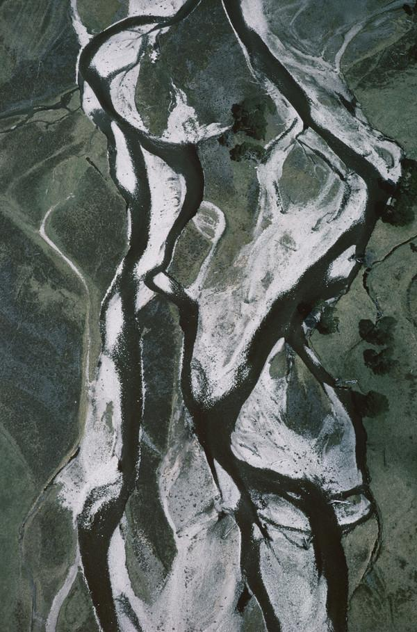 Braided River and Ancient Pines, Glen Feshie, Cairngorms, 1988, from the series Shadow of Heaven (1988)