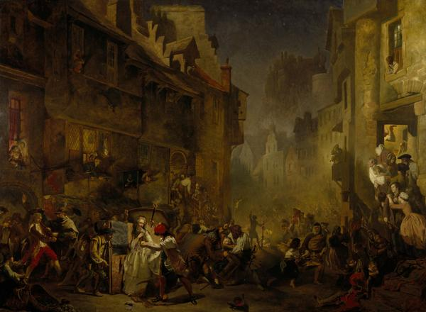 The Porteous Mob (1855)