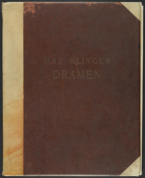 Dramen [Dramas] Opus IX (First published 1883 (this 6th edition 1922))
