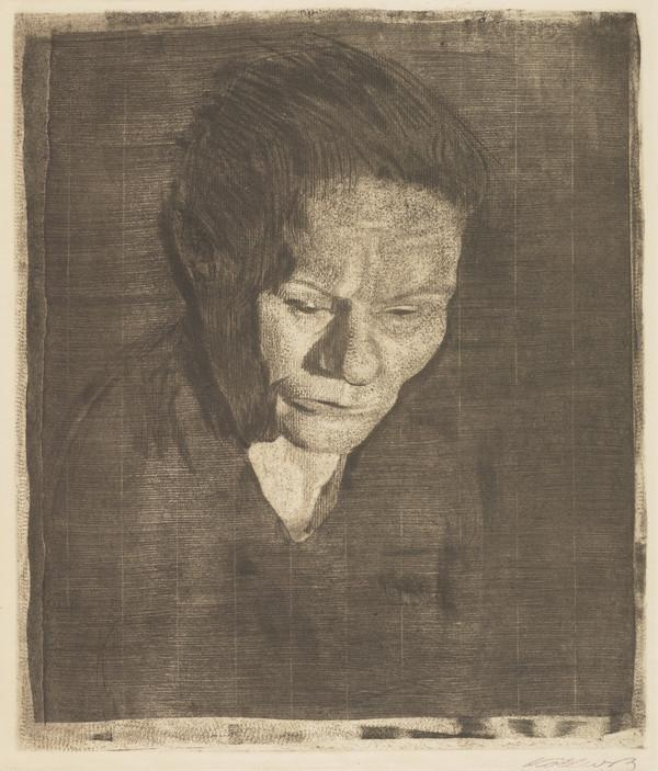 Gesenkter Frauenkopf [Woman with Bowed Head] (1905)