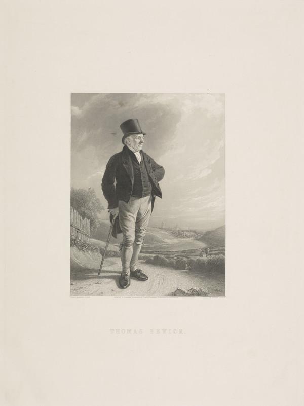 Thomas Bewick, 1753 - 1828. Wood engraver