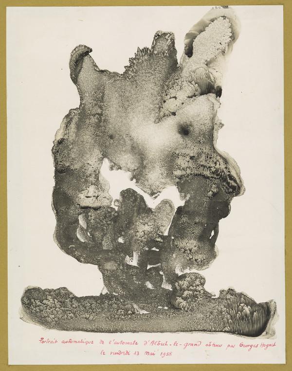 Portrait automatique de l'automate d'Albert-le-Grand [Automatic Portrait of the Automaton of Albertus Magnus] (1938)