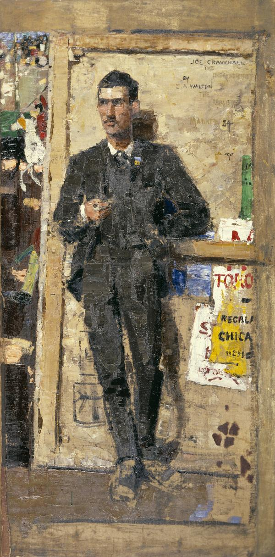 Joseph Crawhall, 1861 - 1913. Artist (1884)