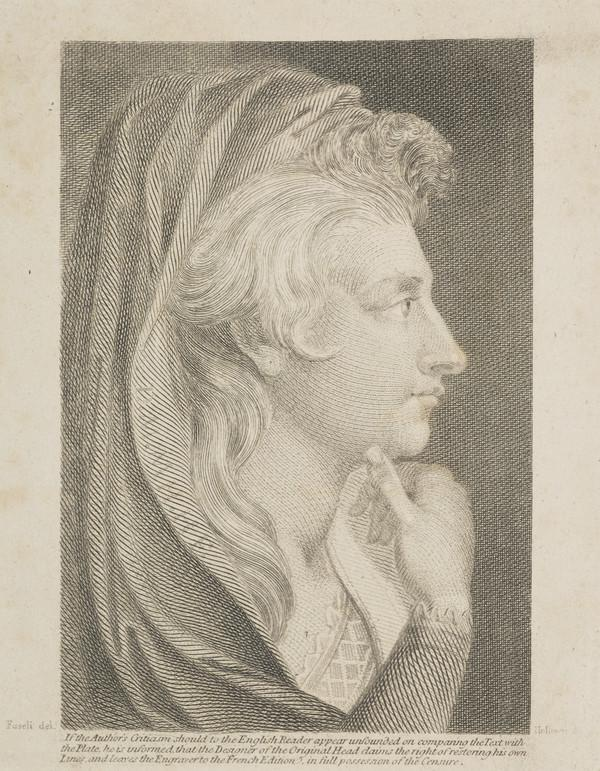 Henry Fuseli (Johann Heinrich Fuessli), 1741 - 1825. Painter and writer