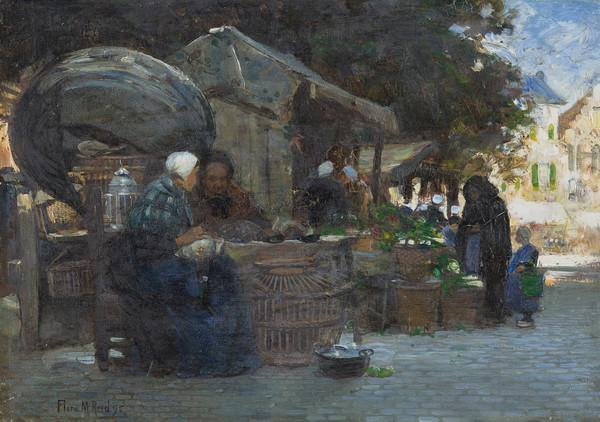 Market Scene (Bruges)