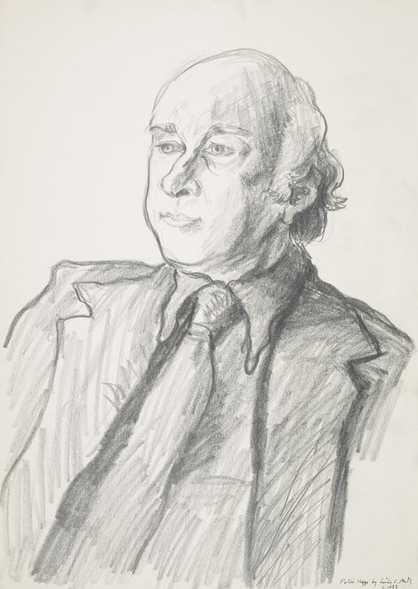 Peter Higgs, b. 1929. Emeritus professor at the University of Edinburgh