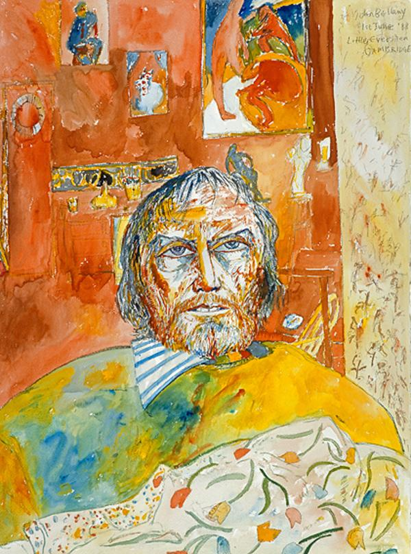 John Bellany, b. 1942. Artist (Self-portrait) (1988)