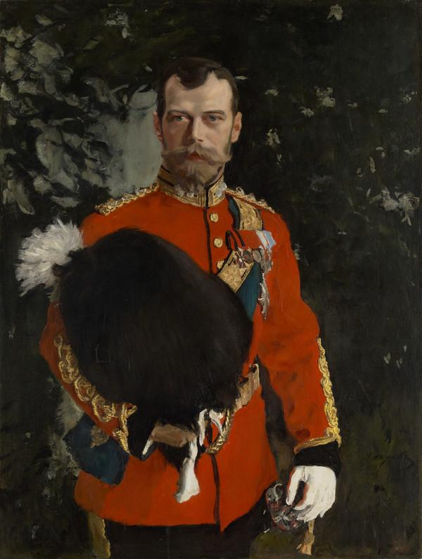 Portrait of His Imperial Majesty Nicolai II Alexandrvitch, Tsar of All the Russias (1868-1918)