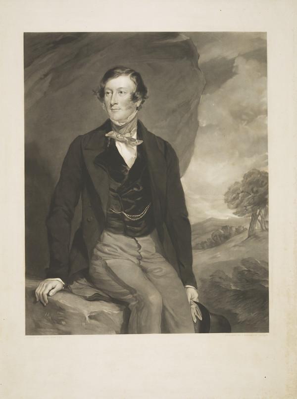 Henry Charles Sturt, 1795 - 1866. Member of Parliament