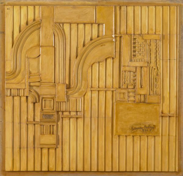 Section of Hunterian Art Gallery Doors No.4C