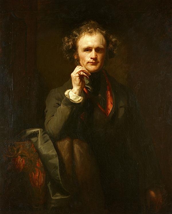 Self-portrait (Dated 1844)