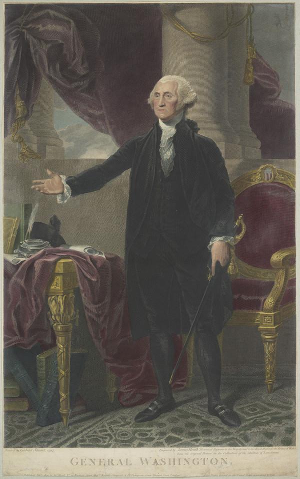 George Washington, 1732 - 1799. President of the United States of America