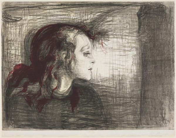 Das kranke Mädchen [The Sick Girl]