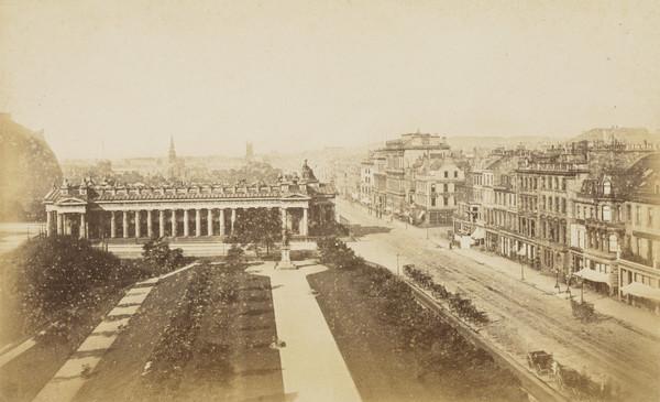 Edinburgh - Princes Street from the Sir Walter Scott Monument