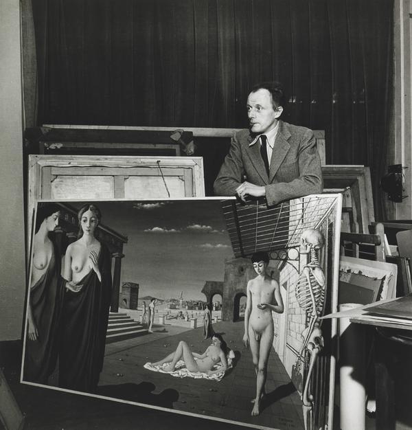 Paul Delvaux, Brussels, 1944 (1944)