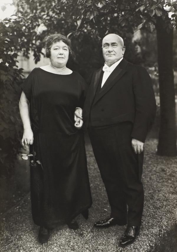 Gentleman Farmer and Wife, 1924 (1924)