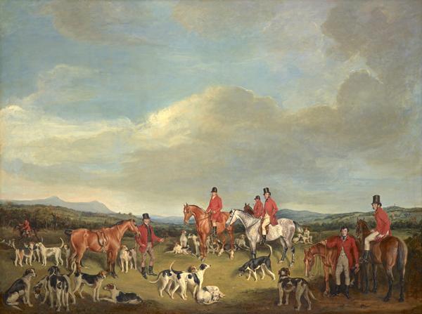 A Meet of the Fife Hounds (1833)