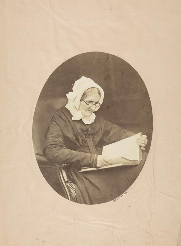 Mrs Adamson (mother of the photographer)