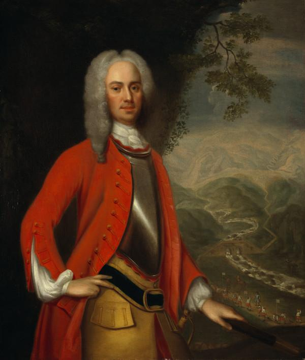 Field-Marshal George Wade, 1673 - 1748. Commander-in-chief in Scotland (About 1731)