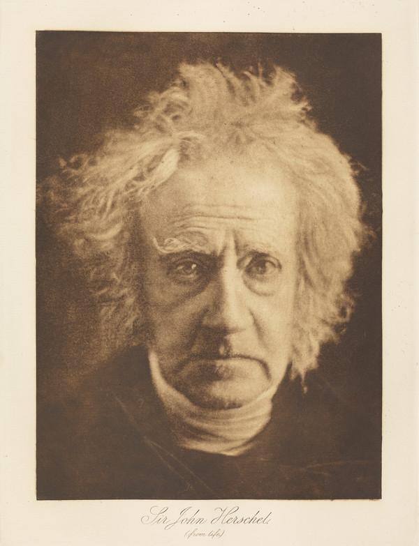 Sir John Herschel, 1792 - 1871. Scientist and astronomer