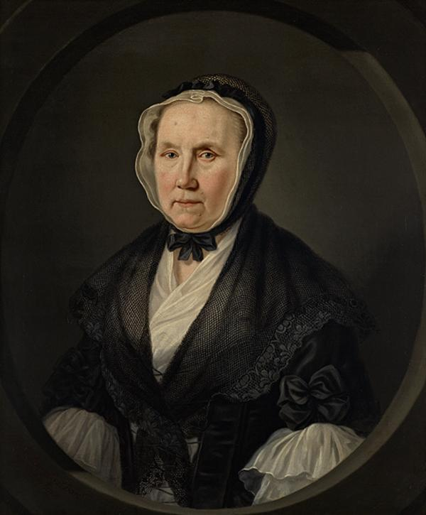 Portrait of an Old Lady (Dated 1769)