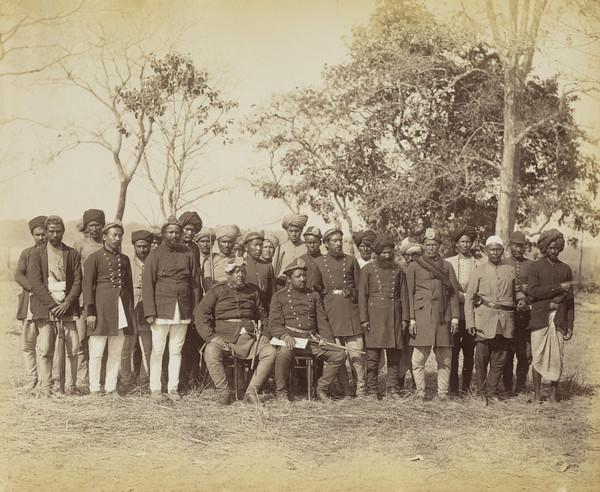 'Nepal' Head State Shilcans (Group of 27 men)