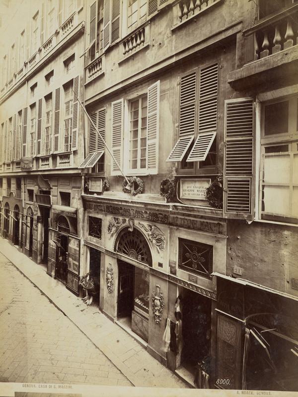 Genova, Casa di G. Mazzini [Mazzini's home, Genoa]