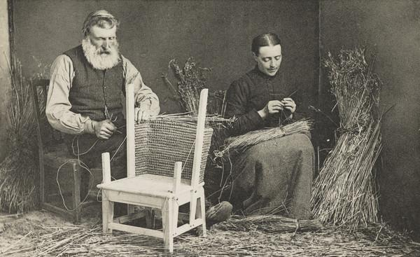 Making Straw-Backed Chairs, Orkney