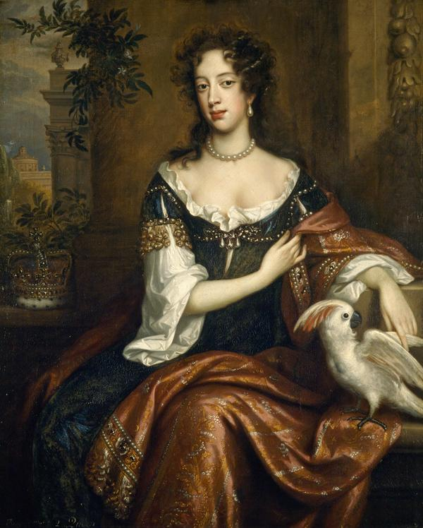 Mary of Modena, 1658 - 1718. Consort of James VII and II (1687)