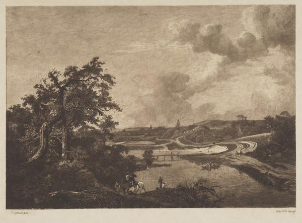 Landscape with Figures and a Bridge
