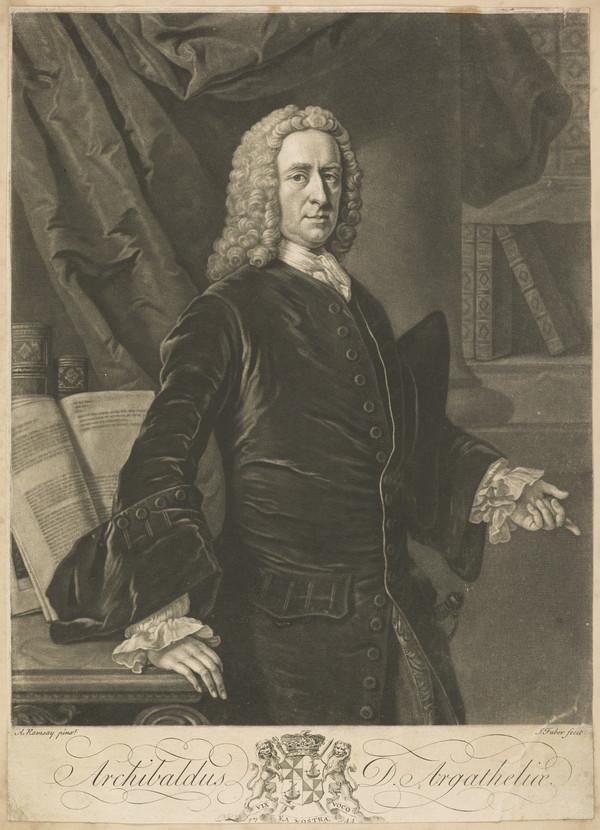 Archibald Campbell, 3rd Duke of Argyll, 1682 - 1761. Statesman ('De Argatheliae')