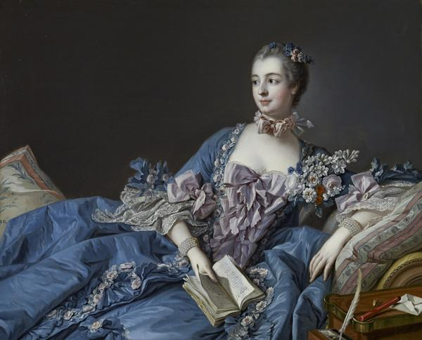 Madame de Pompadour (Jeanne-Antoinette Poisson, 1721 - 1764) (About 1756 - 1758)