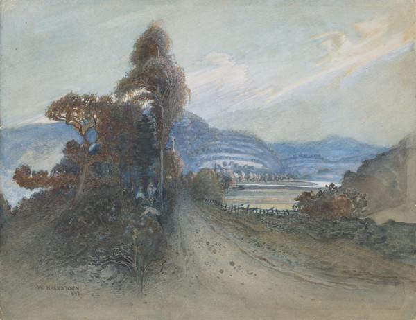 Landscape with Figures and a Wooded Road