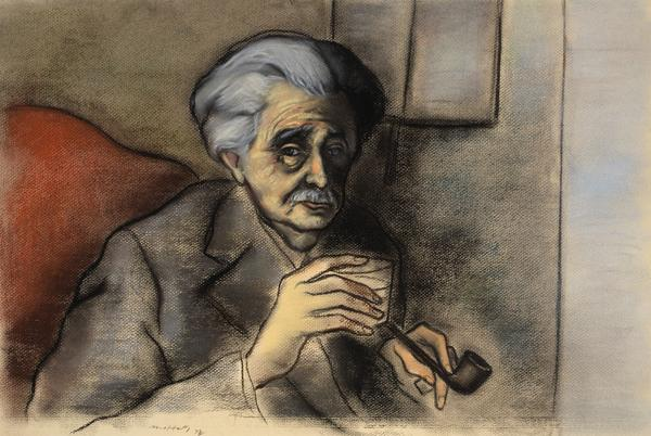 Christopher Murray Grieve (nom de plume, 'Hugh MacDiarmid'), 1892 - 1978. Poet and writer