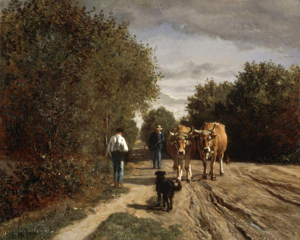 Return from Work (About 1855)