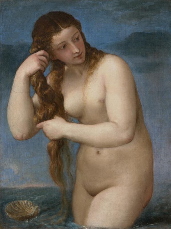 Venus Rising from the Sea ('Venus Anadyomene')