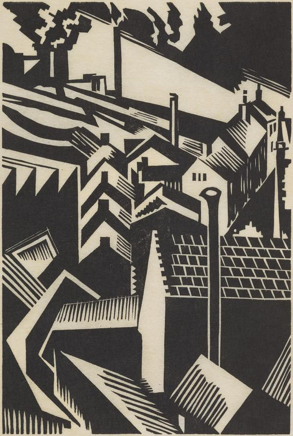 A Black Country Village (or Northern Roofscape)