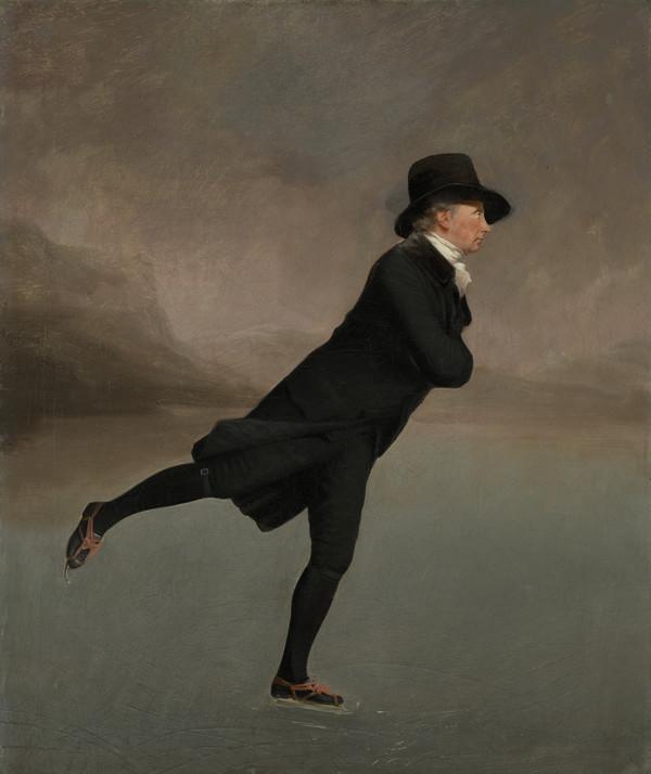 Reverend Robert Walker (1755 - 1808) Skating on Duddingston Loch