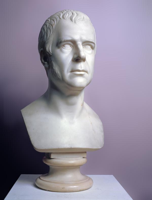 Sir Walter Scott, 1771 - 1832. Novelist (1833/34)