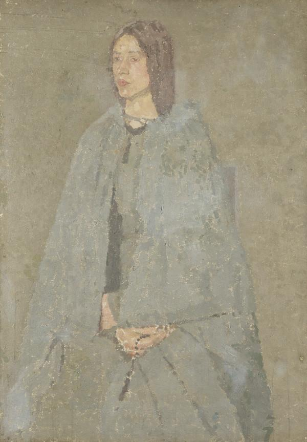 Portrait of a Girl in Grey