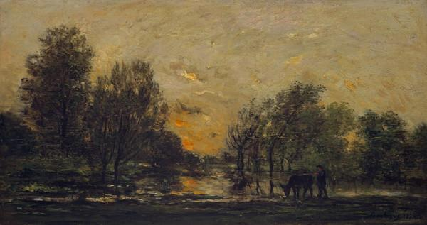Sunset (Dated 1874)