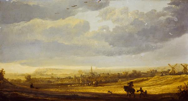 Landscape with a Town (Estimated earliest year: 1635)