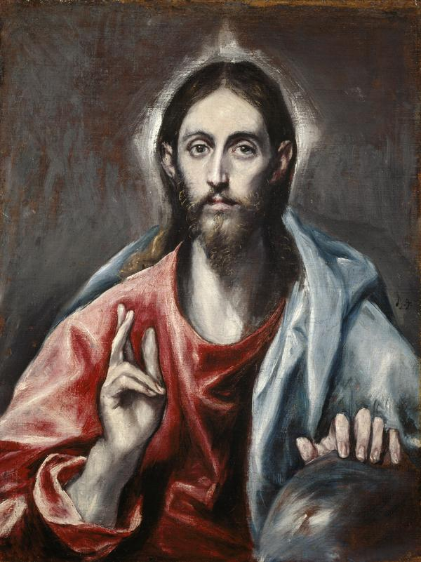 Christ Blessing ('The Saviour of the World') (About 1600)