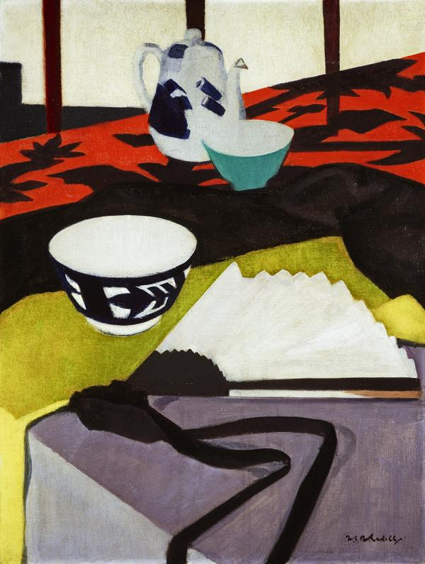 Still Life (The Grey Fan) (About 1920 - 1925)