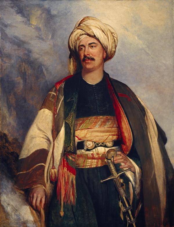 David Roberts, 1796 - 1864. Artist (In Arab dress) (1840)